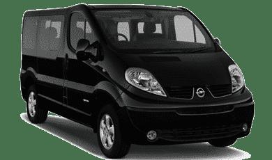 Furgoneta para mudanzas pasajeros 9 plazas aut