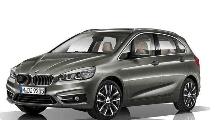 Alquiler coche BMW Serie 2