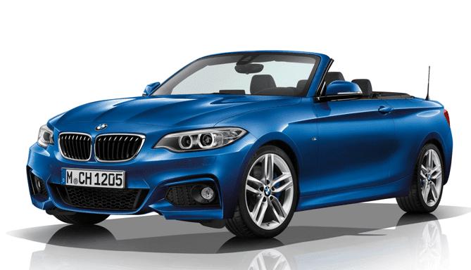 Alquiler coche descapotable BMW serie 2